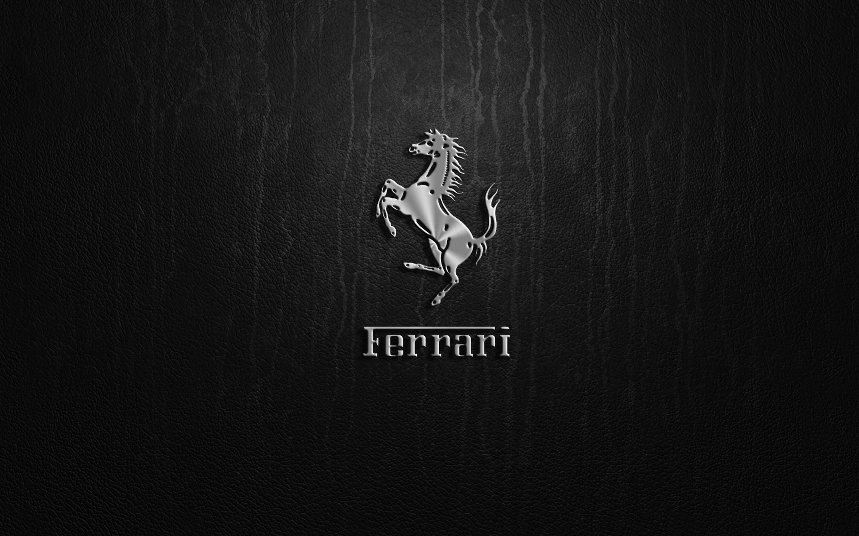 ferrari logo widescreen wallpaper 58916