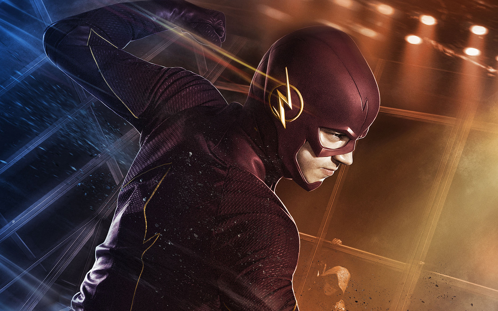 grant gustin actor the flash wallpaper 58352