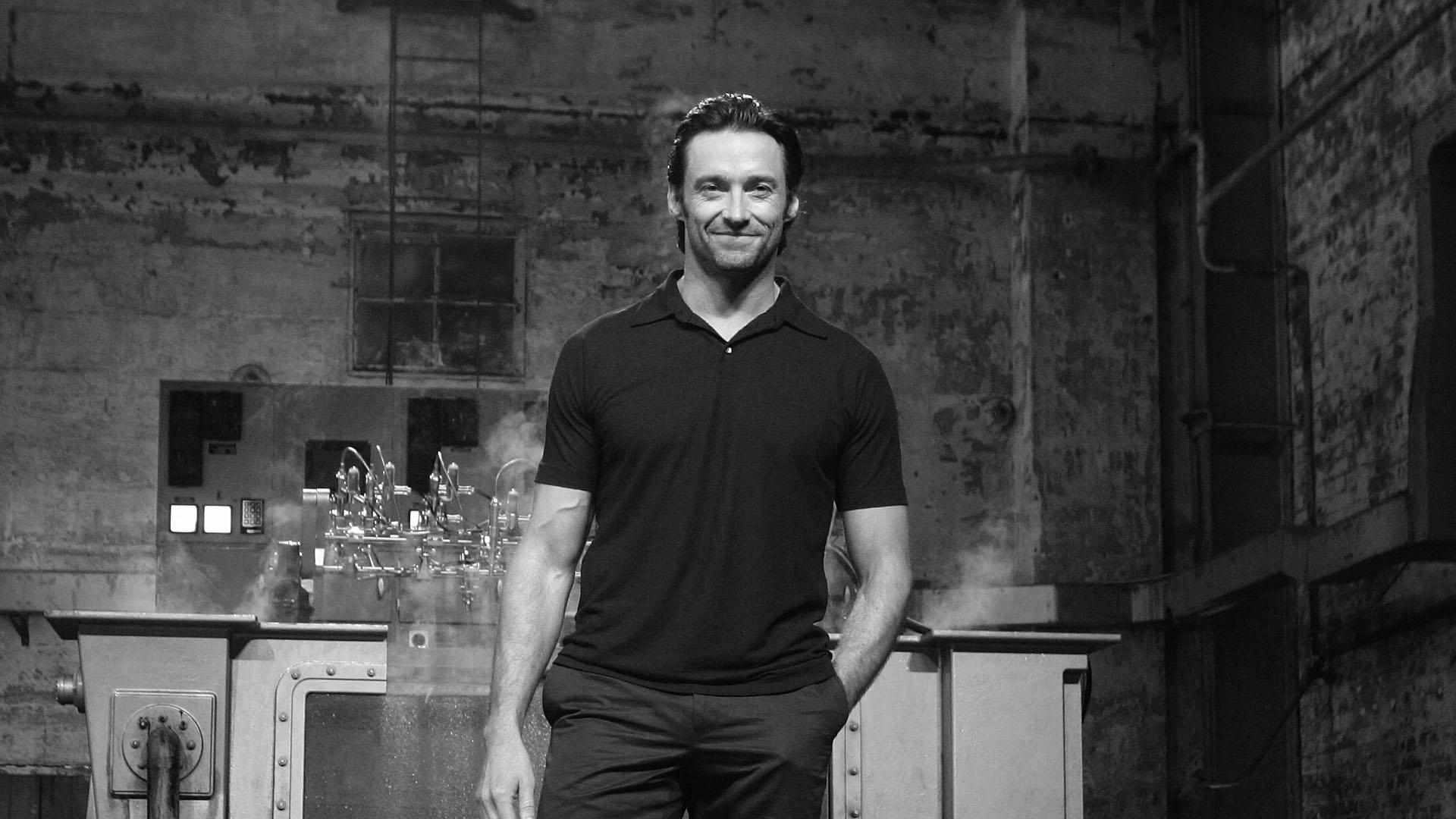 monochrome hugh jackman wallpaper 52485