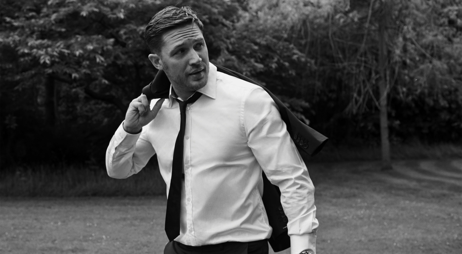 monochrome tom hardy celebrity wallpaper 51407