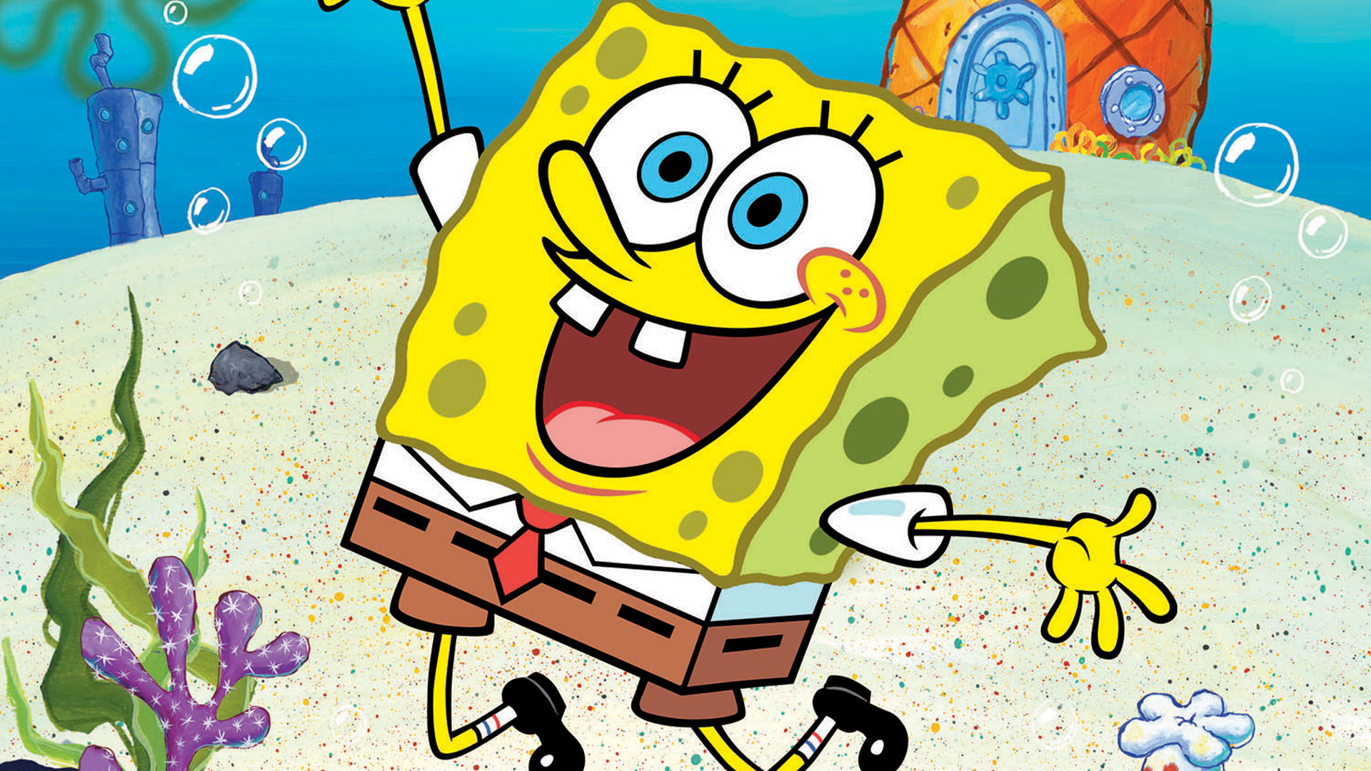 spongebob squarepants hd wallpaper 58842