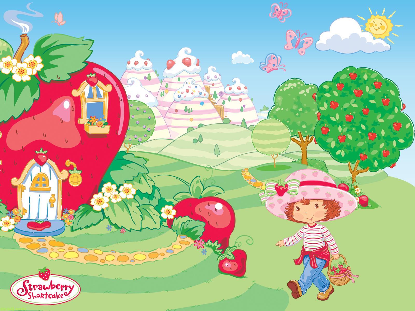 strawberry shortcake computer wallpaper 54406