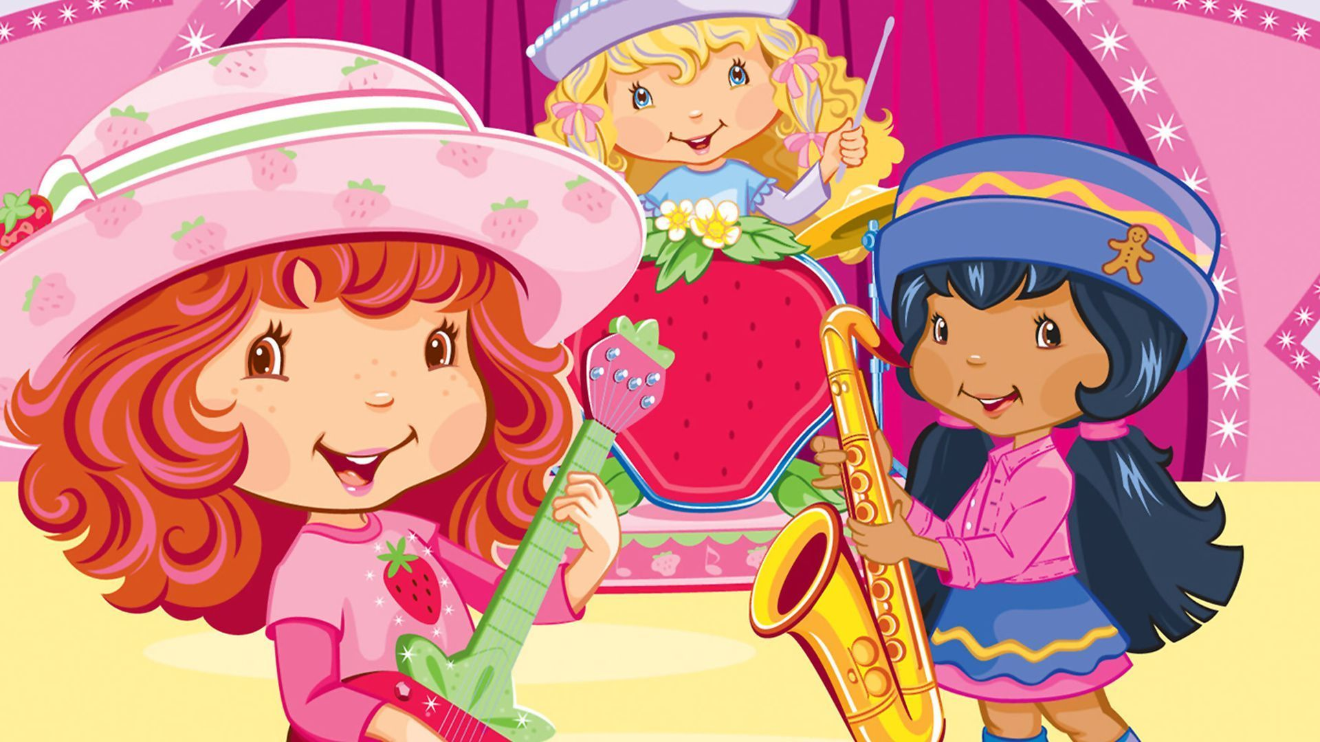 strawberry shortcake desktop hd wallpaper 54409
