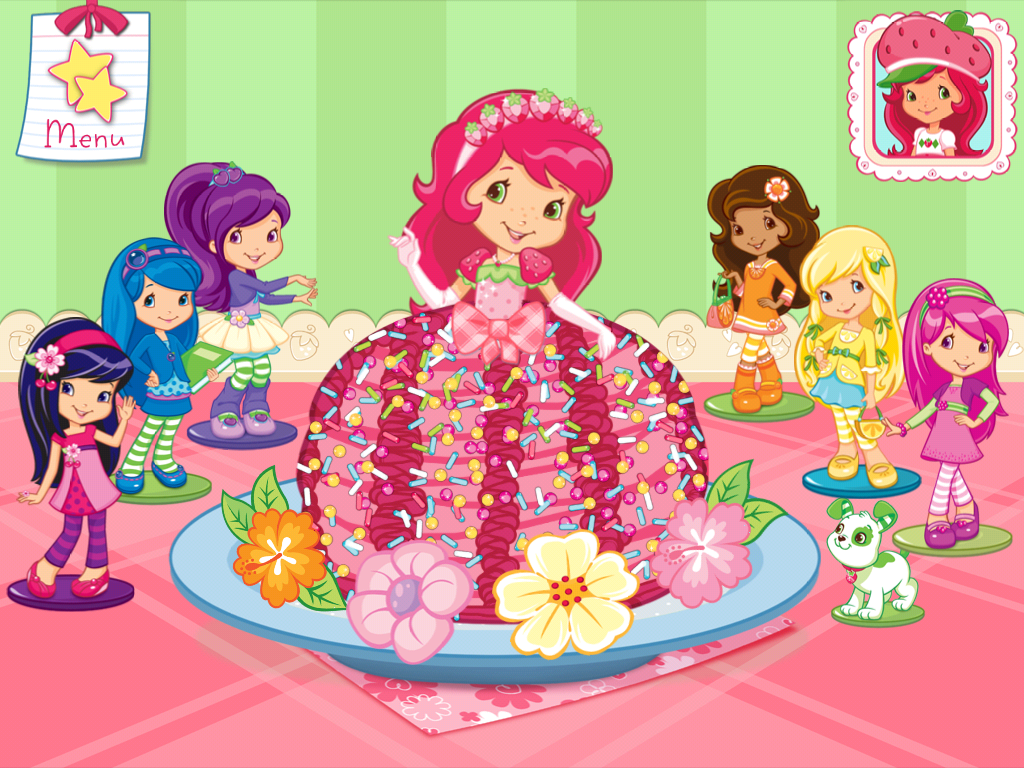strawberry shortcake wallpaper 54407