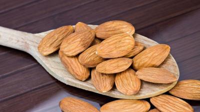 Almonds Nuts Widescreen Wallpaper 52115