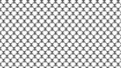 Chanel Logo Pattern Wallpaper Background 54426