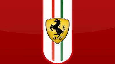 Ferrari Logo Wallpaper Background 58913