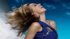 Happy Kylie Minogue Widescreen Wallpaper 51397