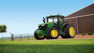 John Deere Tractor Wide Wallpaper 52455