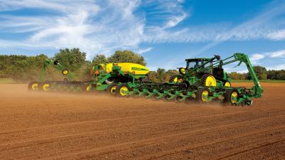 John Deere Wide Wallpaper 52454