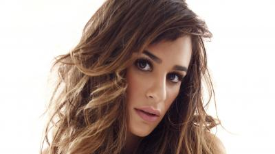 Lea Michele Face Wallpaper 52098