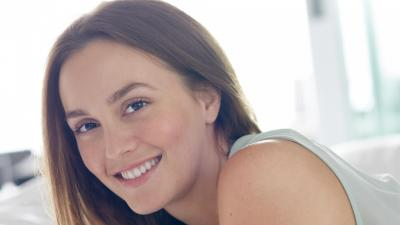 Leighton Meester Smile Wallpaper 52477