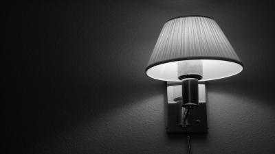 Monochrome Lamp Wallpaper 53973