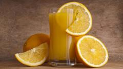 Orange Juice Wallpaper Background 49002