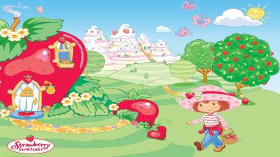 Strawberry Shortcake Computer Wallpaper 54406