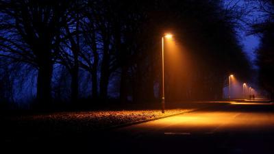 Street Lamp Wallpaper 53972
