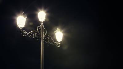 Street Lamp Wide Wallpaper 53968