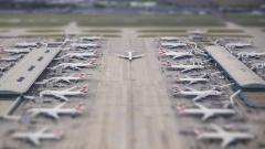 Airport Tilt Shift Wallpaper 50128