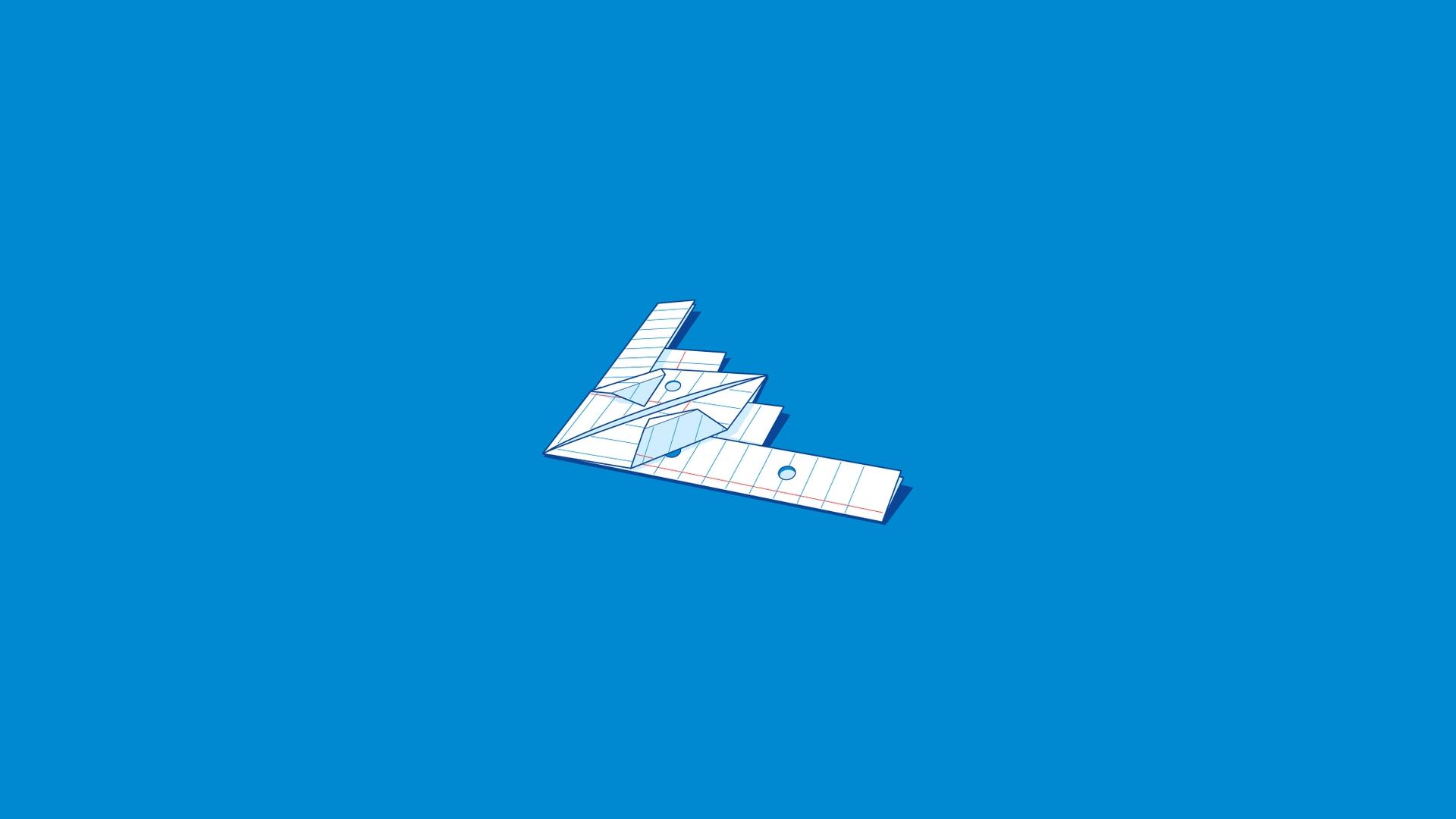 b2 paper airplane wallpaper 58078