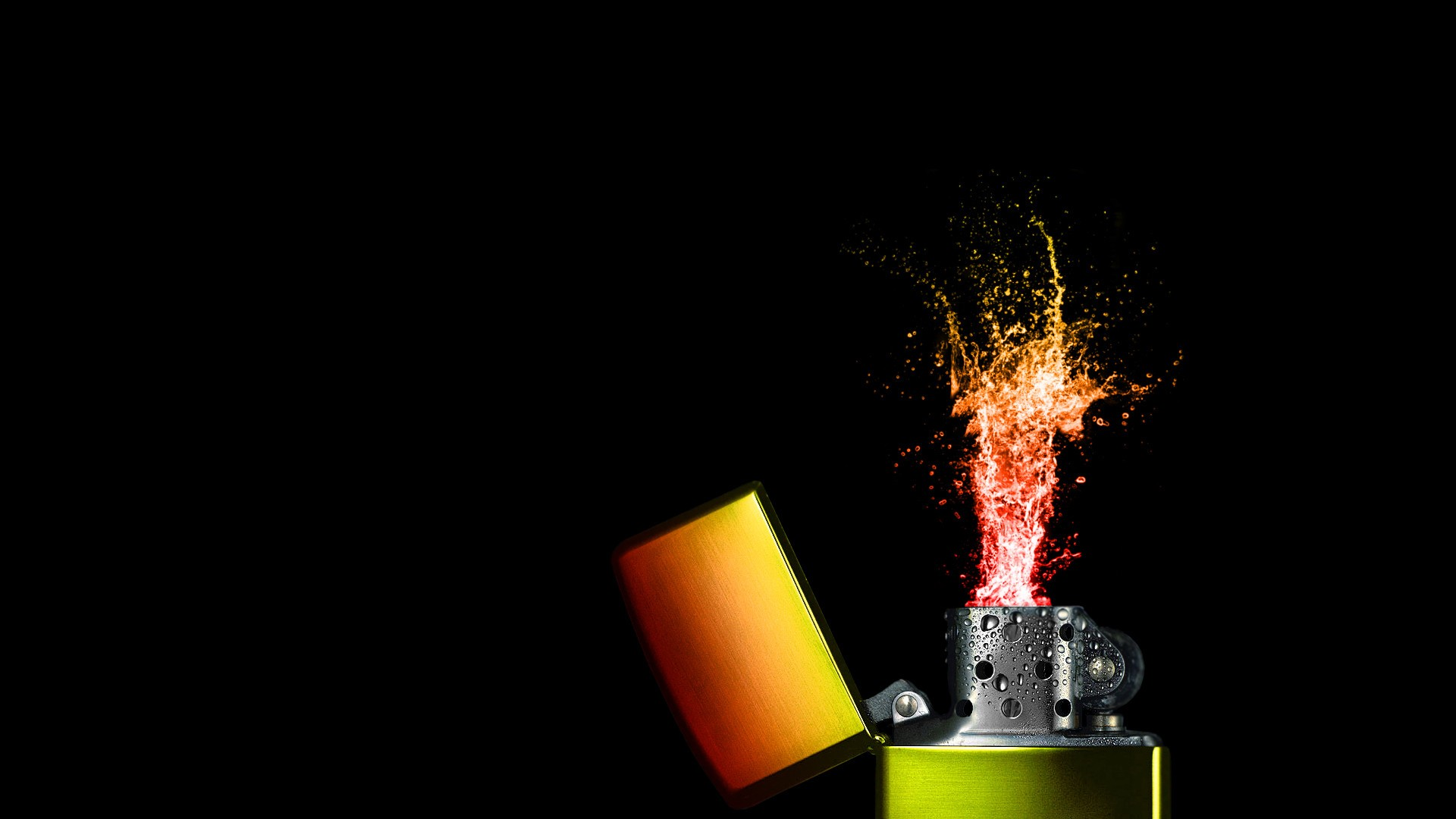 creative lighter wallpaper 51986 1920x1080 px