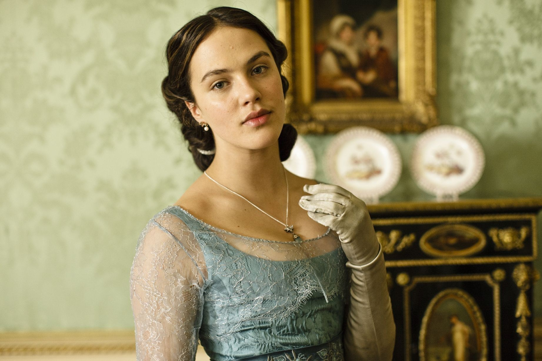jessica brown findlay actress wallpaper 57978