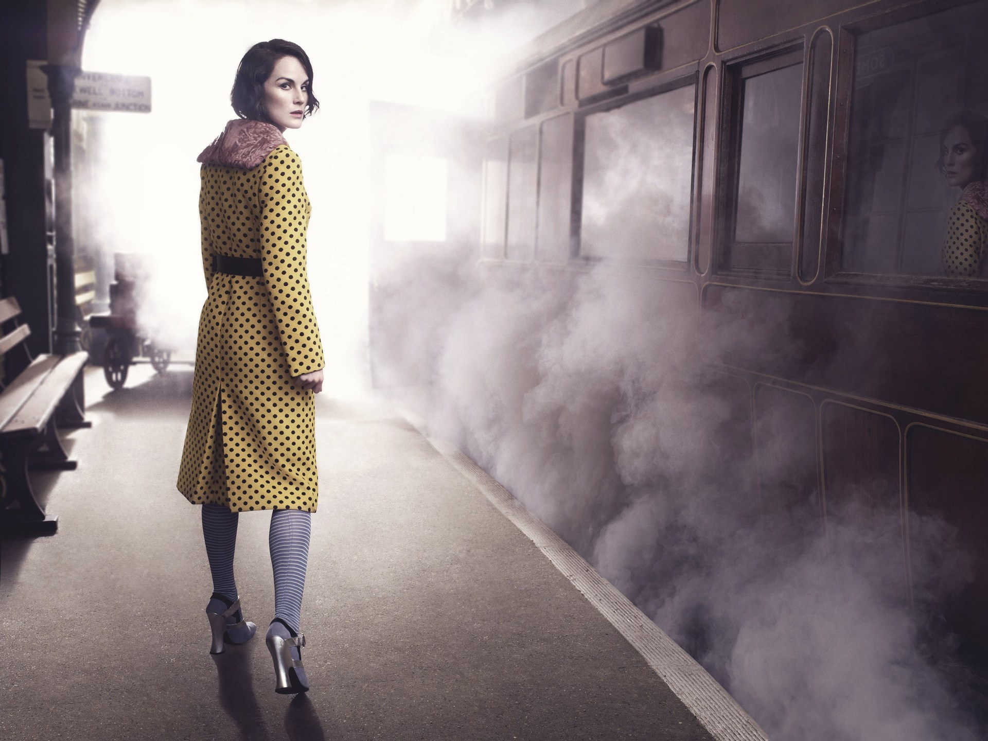 michelle dockery actress wallpaper 57972