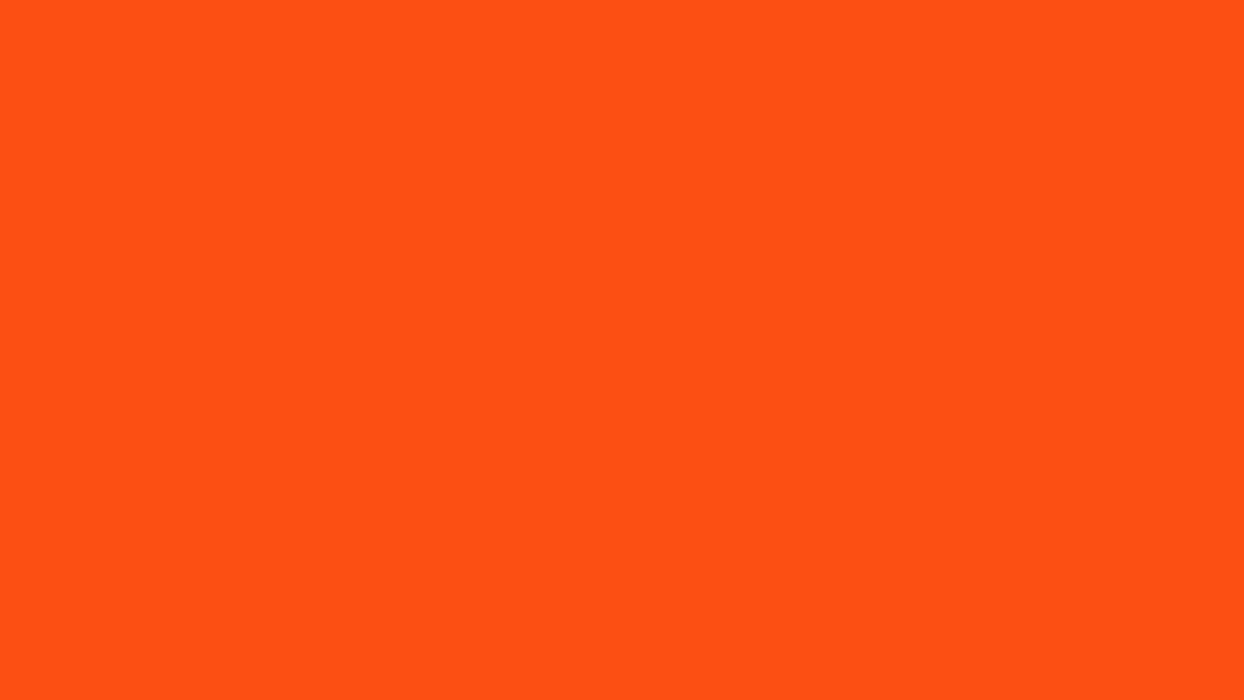 orange solid color wallpaper 49781 2560x1440 px