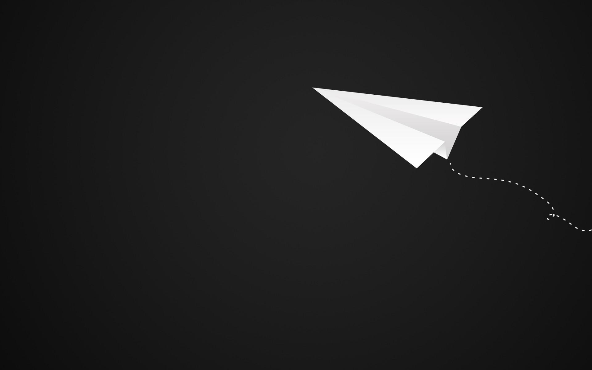 paper airplane desktop wallpaper 58076