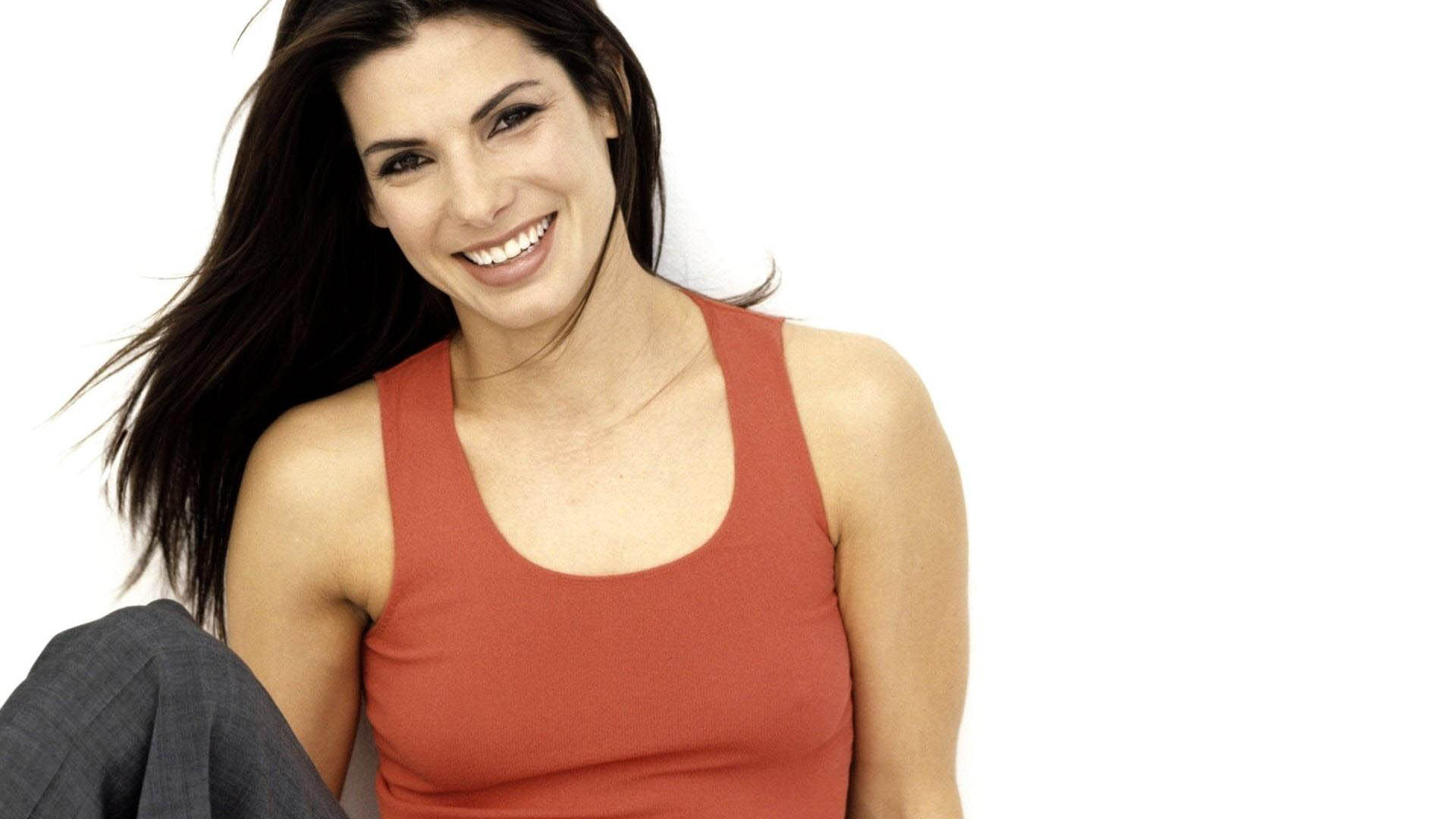 sandra bullock smile desktop wallpaper 51971