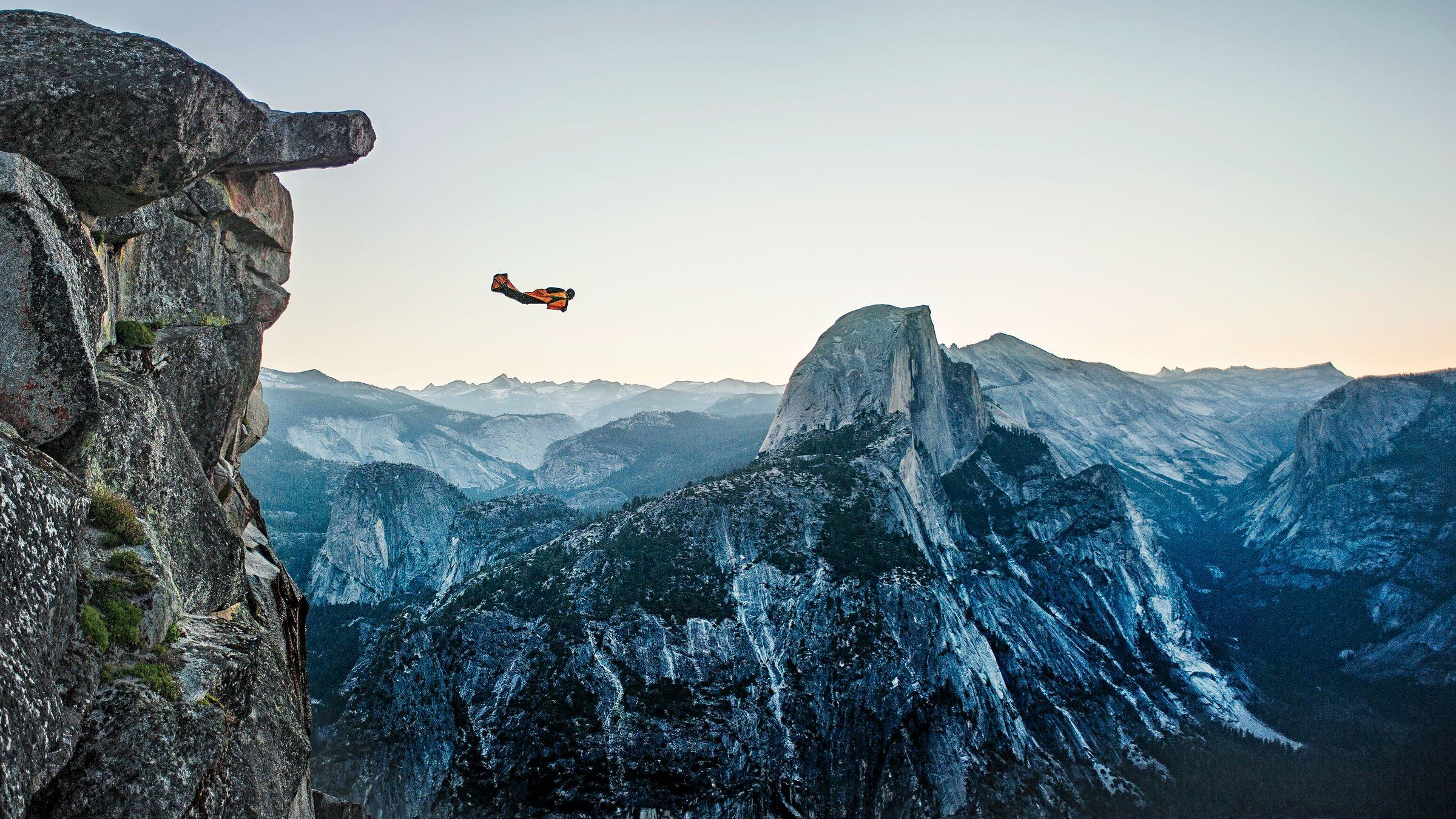 skydiving wide hd wallpaper 53412