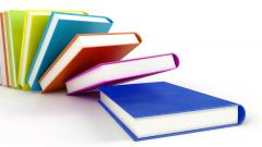 3D Colorful Books Wallpaper 49800