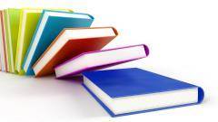 3D Colorful Books Wallpaper 49800