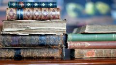 Antique Books Desktop Wallpaper 49793