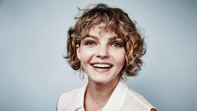 Camren Bicondova Smile Wallpaper 58550