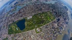 Central Park Aerial View Desktop Wallpaper 49786