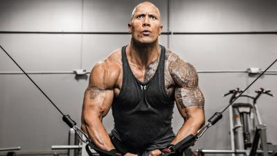 Dwayne Johnson Workout Wallpaper 52966