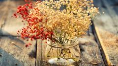 Flowers In Jar Wallpaper 49808
