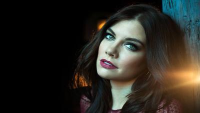 Lauren Cohan Makeup HD Wallpaper 53473