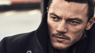 Luke Evans Face Widescreen Wallpaper 57947