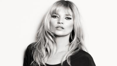 Monochrome Kate Moss Wallpaper 58159