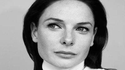 Monochrome Rebecca Ferguson Face Wallpaper 58175
