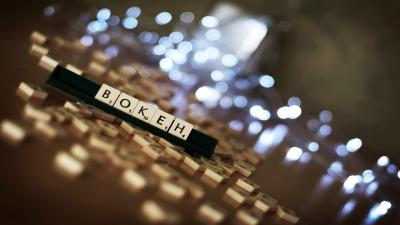 Scrabble Bokeh Desktop Wallpaper 52748