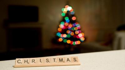 Scrabble Christmas Wallpaper 52753