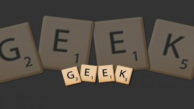 Scrabble Geek Wallpaper 52747