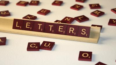 Scrabble Letters Wide Wallpaper 52751