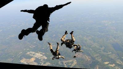 Skydiving Desktop Wallpaper 53414