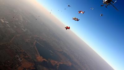 Skydiving Wallpaper Background 53413