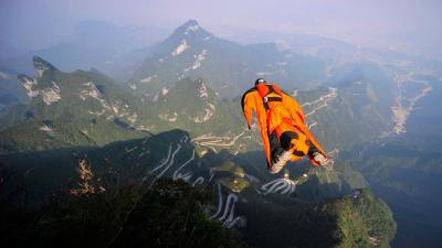Skydiving Wide Wallpaper Pictures 53411