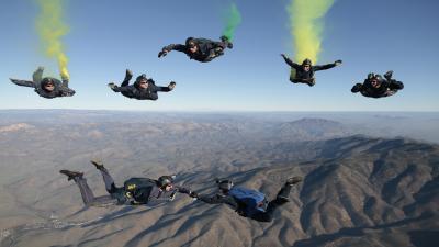 Skydiving Widescreen Wallpaper 53416