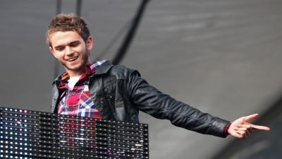 Zedd Performing Wallpaper Background 54456